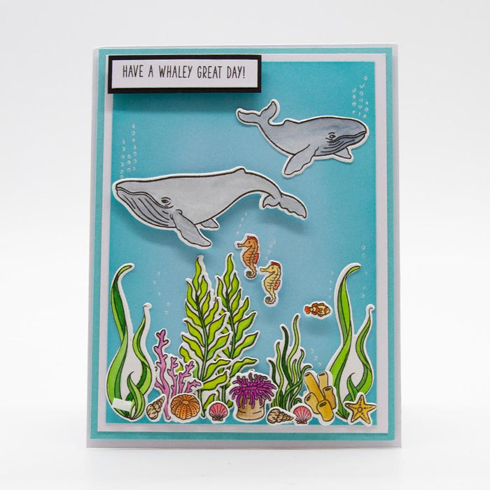 Stamp Club - A Whaley Great Set - Stamp & Die Set - SC08