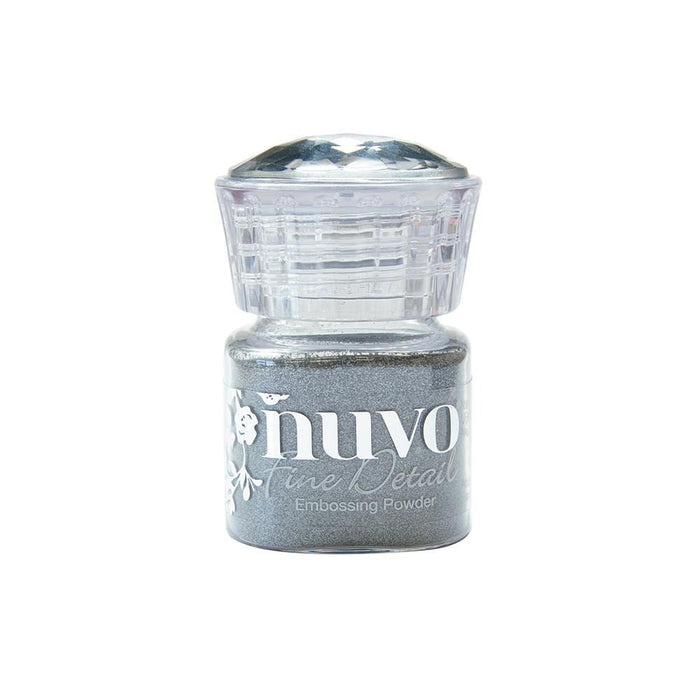 Nuvo - Embossing Powder (Fine) - Classic Silver - 584n - tonicstudios