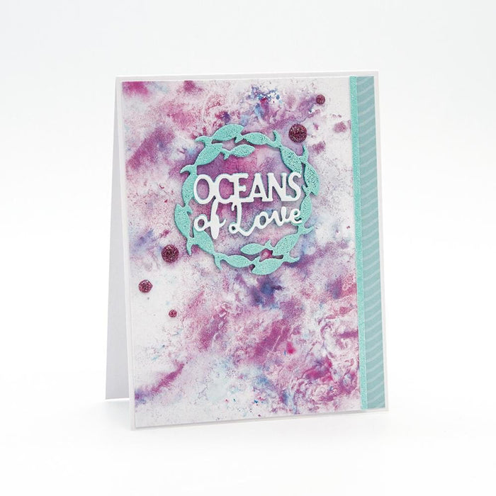 Nuvo - Embossing Powder - Ocean Sparkle - 595n - tonicstudios