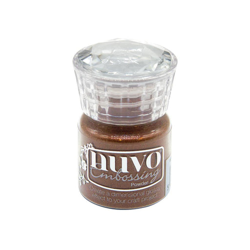 Nuvo - Glitter Embossing Powder - Copper Blush - 613n - tonicstudios