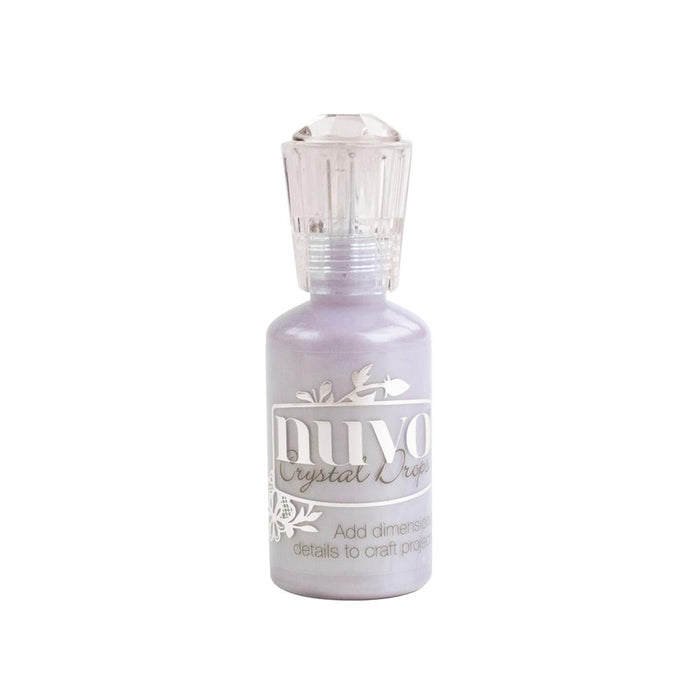 Nuvo - Crystal Drops - Wisteria Purple - 658n - tonicstudios