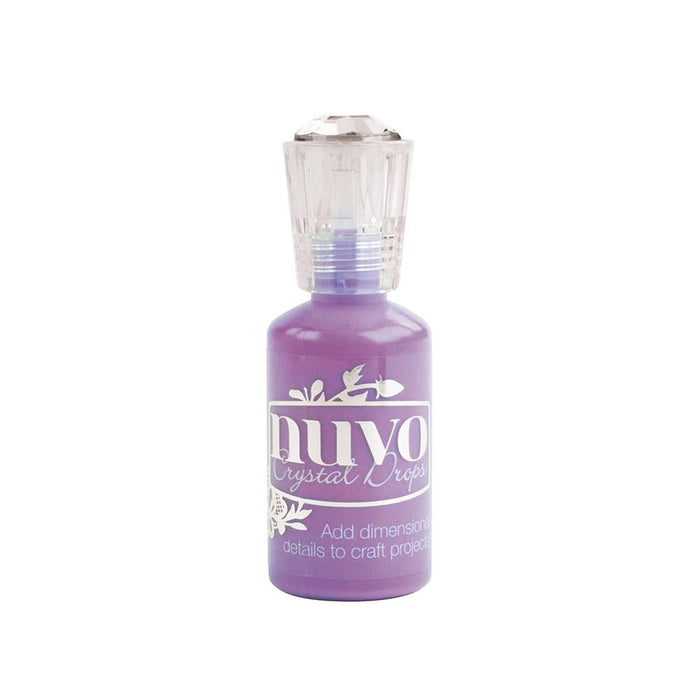 Nuvo - Crystal Drops Gloss - Crushed Grape - 662n - tonicstudios