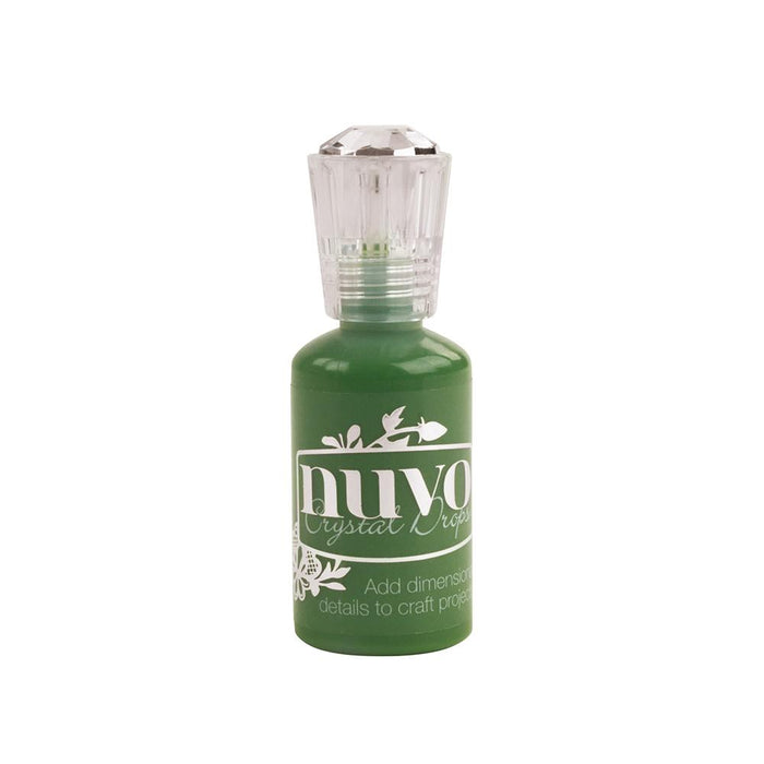 Nuvo - Crystal Drops - Gloss - Woodland Green - 663n - tonicstudios