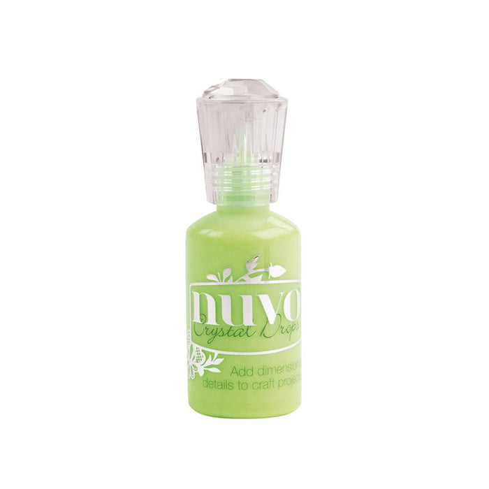 Nuvo - Crystal Drops - Gloss - Apple Green - 669n - tonicstudios