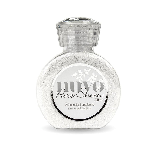 Nuvo Pure Sheen Glitter - Ice White - 721N