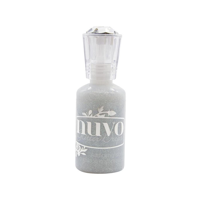 Nuvo - Glitter Drops - Silver Crystals - 774n