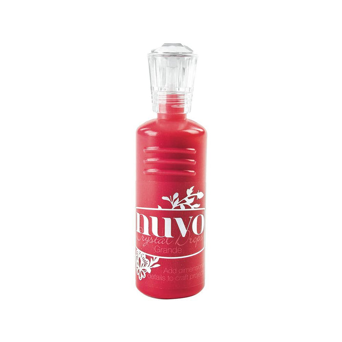 Nuvo - Crystal Drops Grande - Red Berry - 793n - tonicstudios