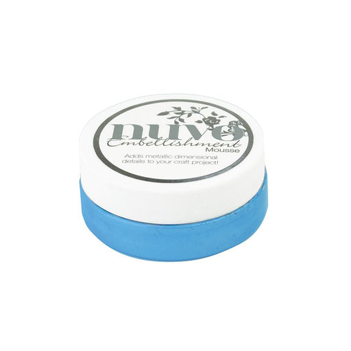 Nuvo - Embellishment Mousse - Cornflower Blue - 806n - tonicstudios