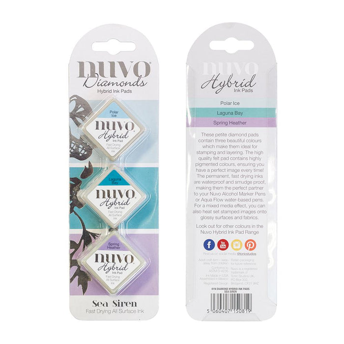 Nuvo - Diamond Hybrid Ink Pads - Sea Siren - 81n - tonicstudios
