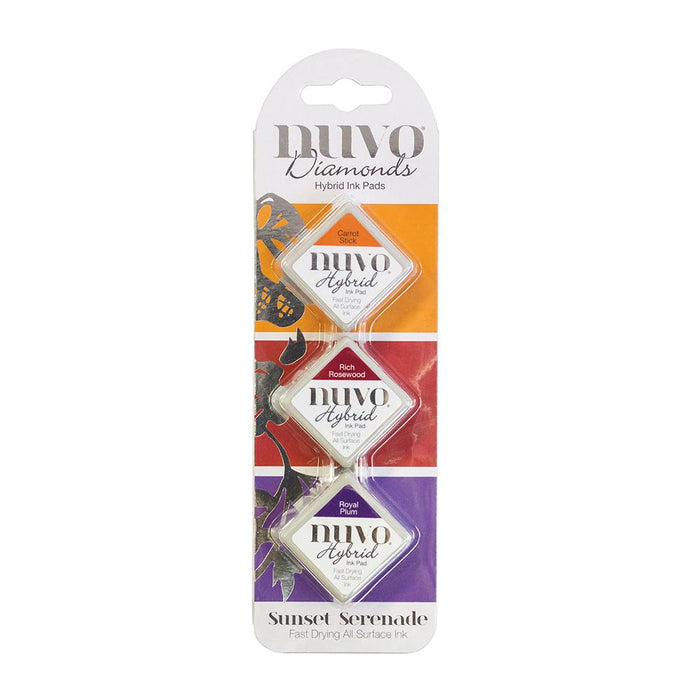 Nuvo - Diamond Hybrid Ink Pads - Sunset Serenade - 82n - tonicstudios