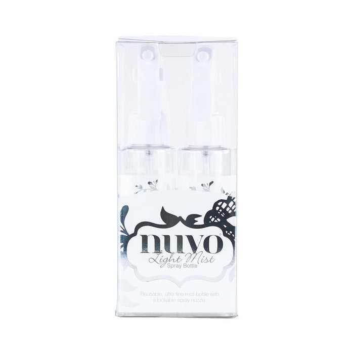 Nuvo - Tools - Light Mist Spray Bottle 2 Pack - 849n - tonicstudios