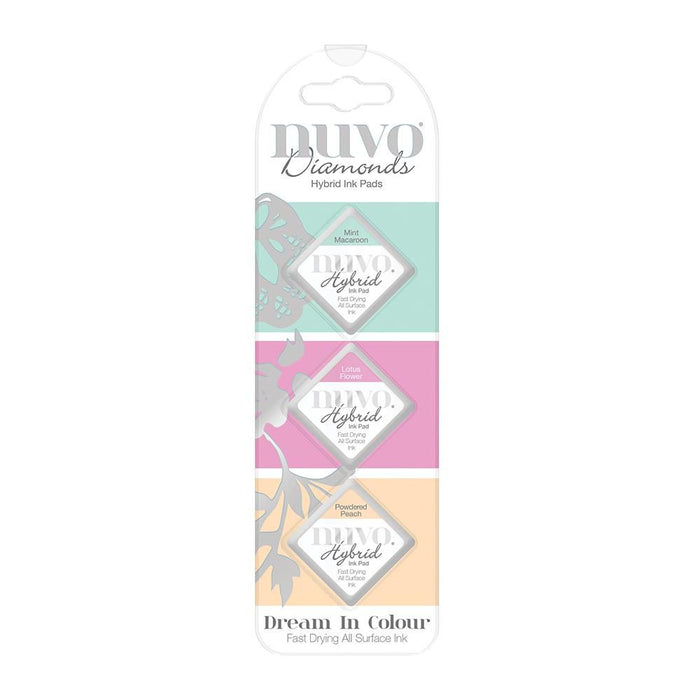 Nuvo - Diamond Hybrid Ink Pads - Dream In Color - 84n - tonicstudios