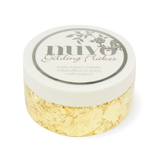 Nuvo - Gilding Flakes - Radiant Gold (200ml) - 850N