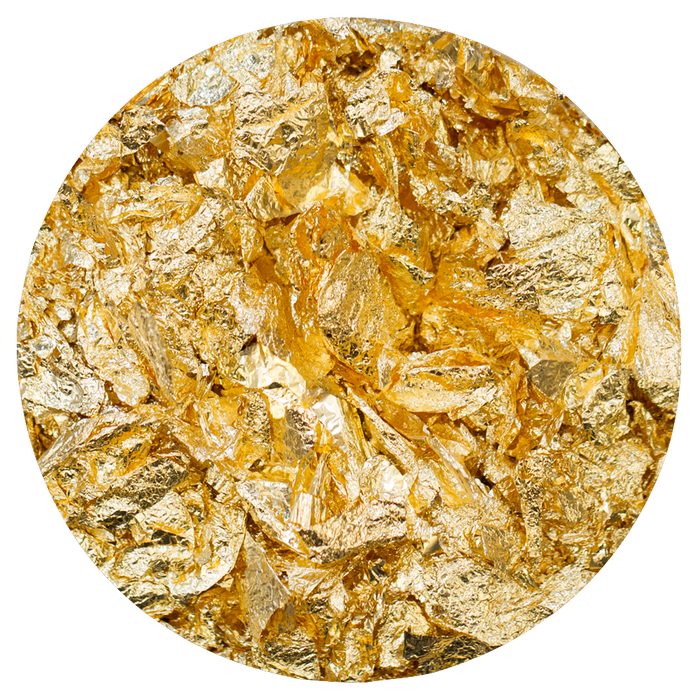 Nuvo - Gilding Flakes - Radiant Gold (200ml) - 850n - tonicstudios