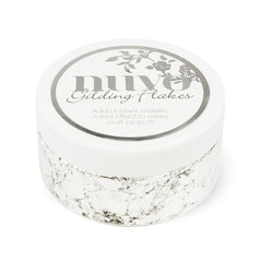 Nuvo - Gilding Flakes - Silver Button (200ml) - 851n - tonicstudios