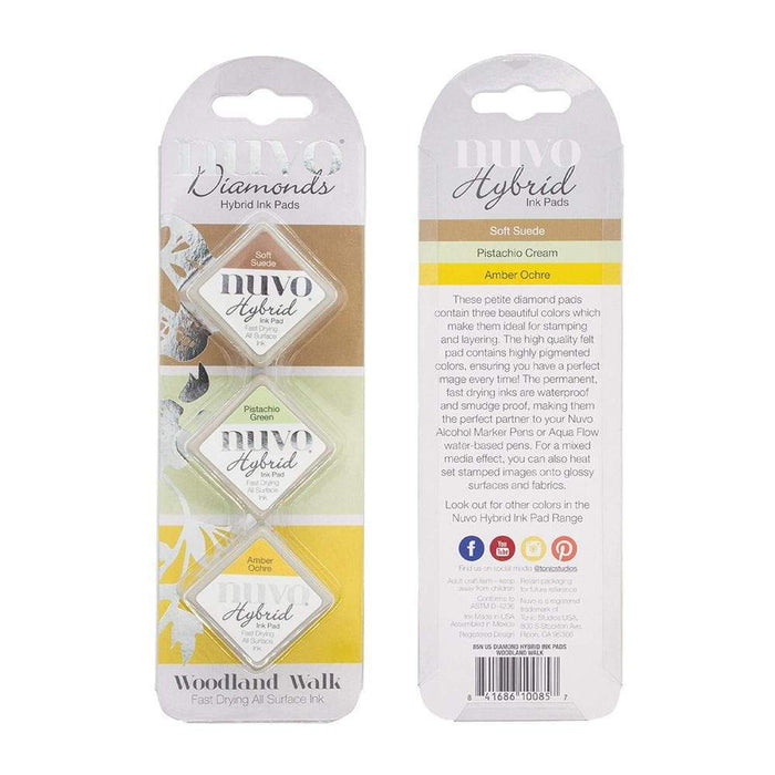 Nuvo - Diamond Hybrid Ink Pads - Woodland Walk - 85N - tonicstudios