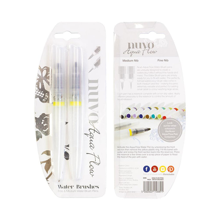 Nuvo - Aqua Flow Pens - Water Brushes - 889n - tonicstudios