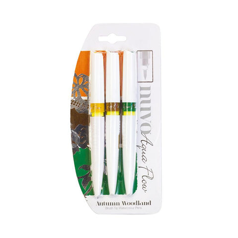 Nuvo - Aqua Flow Pens - Autumn Woodland - 890N