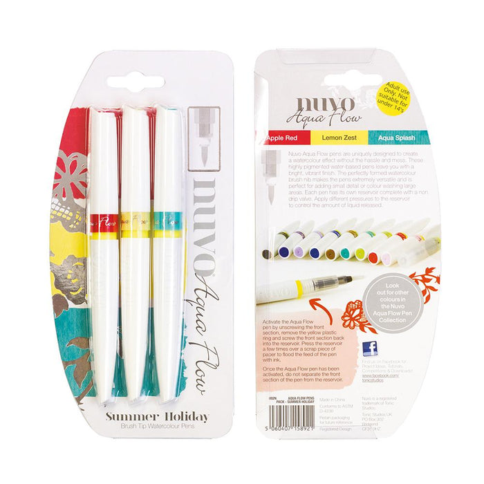Nuvo - Aqua Flow Pens - Summer Holiday - 892n - tonicstudios