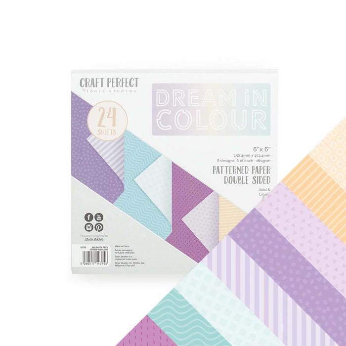 Craft Perfect - Printed Paper Packs Bundle - Bold & Bright - USB420