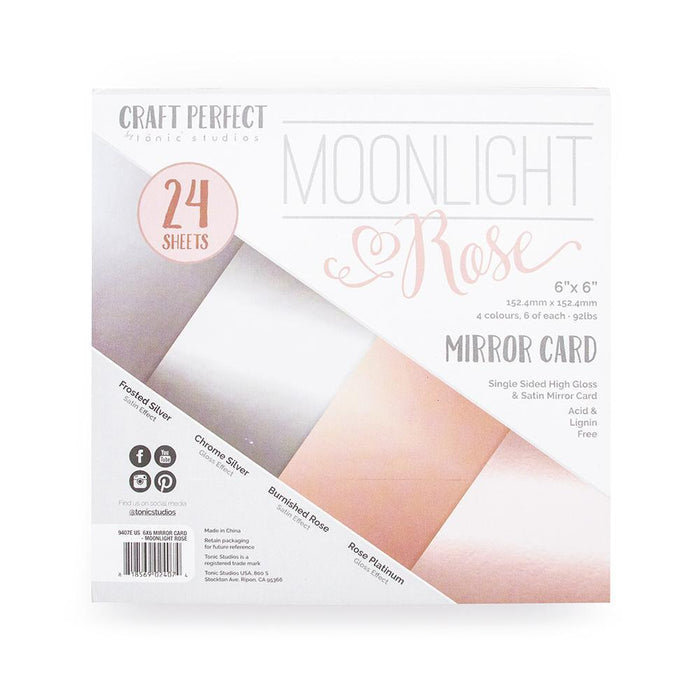 Craft Perfect - 6x6 Card Packs - Moonlight Rose - tonicstudios