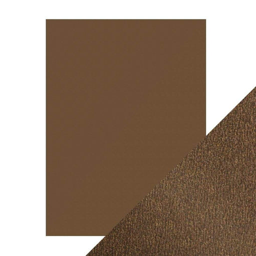 "Craft Perfect - Pearlescent Card - Glazed Chestnut - 8.5"" x 11"" (5/PK ) - 9537e - tonicstudios"
