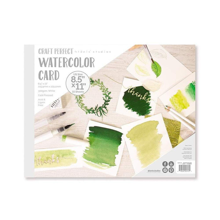 Craft Perfect - Watercolor Pads - 8.5 x 11 - tonicstudios