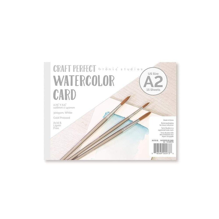 Craft Perfect - Watercolor Pads - A2 - 9573e - tonicstudios