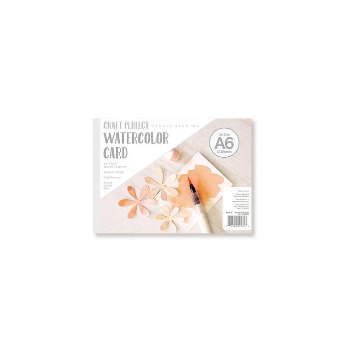 Craft Perfect - Watercolor Pads - A6 - tonicstudios