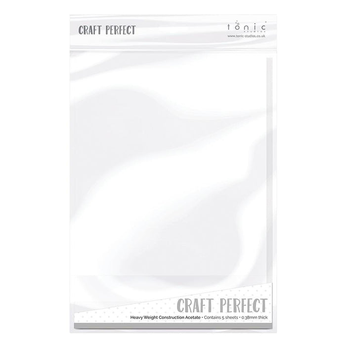 Craft Perfect - Heavy Weight Construction Acetate - tonicstudios