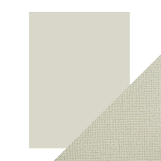 "Craft Perfect - Classic Card - Oyster Grey - Weave Textured - 8.5"" x 11 (10/PK) - 9612e - tonicstudios"