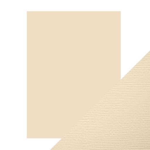 "Craft Perfect - Classic Card - Cream - Weave Textured - 8.5"" x 11"" (10/PK) - 9614e - tonicstudios"