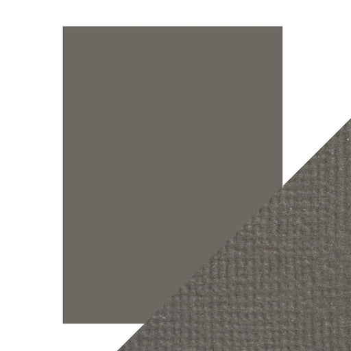 "Craft Perfect - Classic Card - Pewter Grey - Weave Textured - 8.5"" x 11"" (10/PK) - 9622e - tonicstudios"