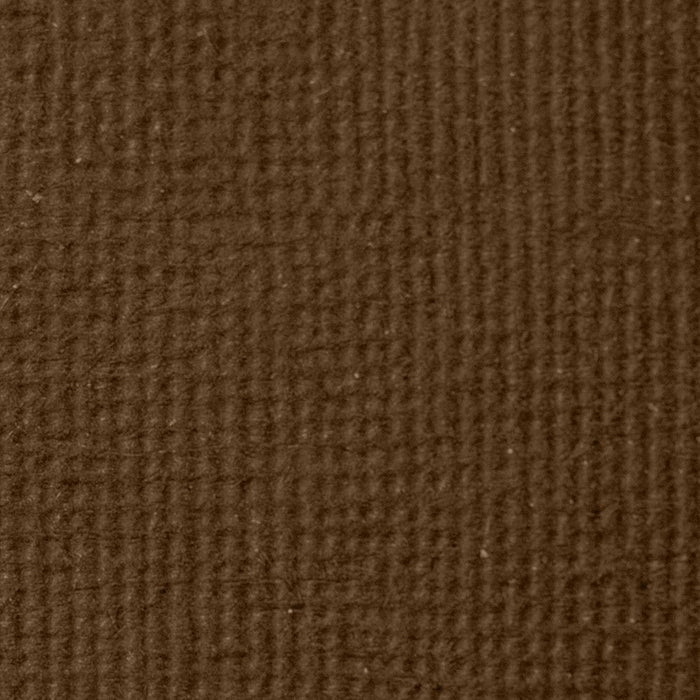 "Craft Perfect - Classic Card - Chocolate Brown - Weave Textured - 8.5"" x 11"" (10/PK) - 9625e - tonicstudios"