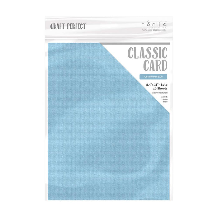 Craft Perfect - Card Bundle - Azul Pastel - USB520