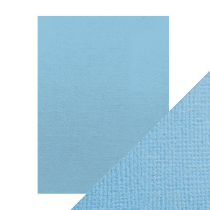 "Craft Perfect - Classic Card - Cornflower Blue - Weave Textured - 8.5"" x 11"" (10/PK) - tonicstudios"