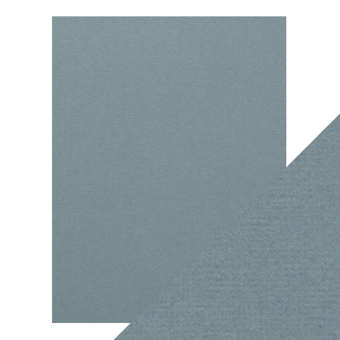"Craft Perfect - Classic Card - Denim Blue - Weave Textured - 8.5"" x 11"" (10/PK) - tonicstudios"