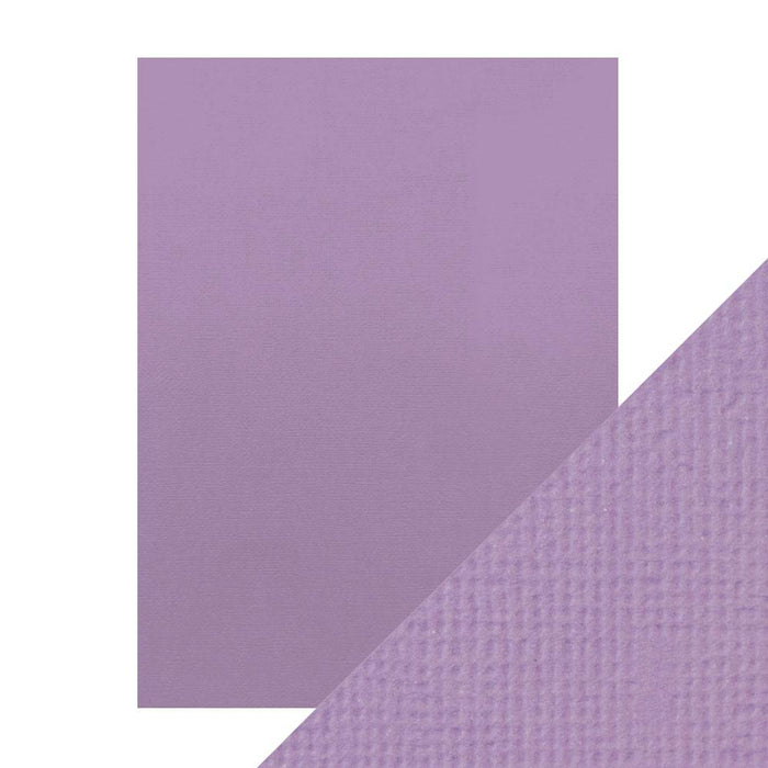 "Craft Perfect - Classic Card - Mauve Purple - Weave Textured - 8.5"" x 11"" (10/PK) - tonicstudios"