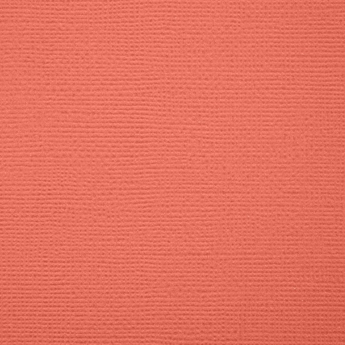 "Craft Perfect - Classic Card - Coral Pink - Weave Textured - 8.5"" x 11"" (10/PK) - tonicstudios"