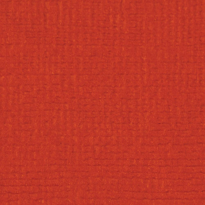 "Craft Perfect - Classic Card - Chilli Red - Weave Textured - 8.5"" x 11"" (10/PK) - tonicstudios"