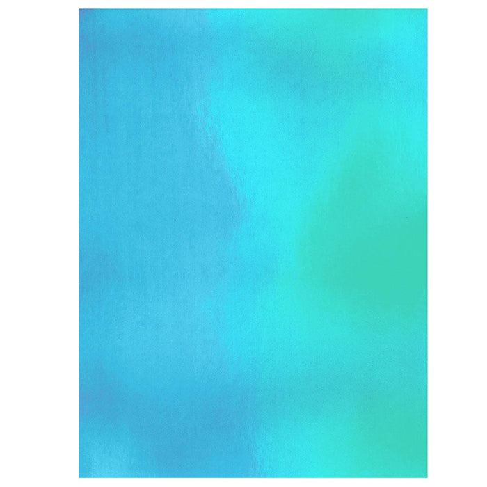 "Craft Perfect - Iridescent Mirror Card 8.5""x11"" - Marina Mist - (5/PK) - 9783e"