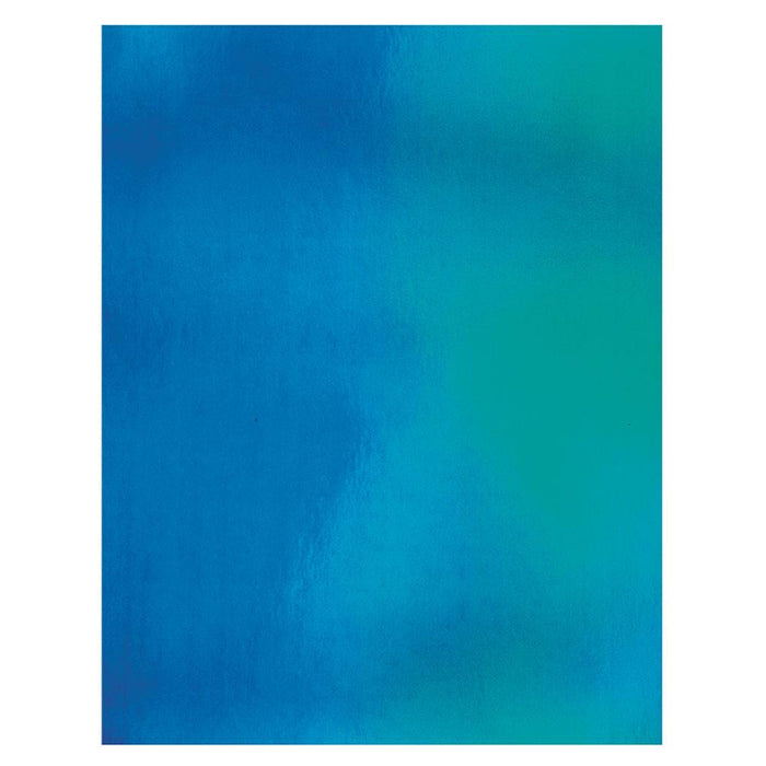 "Craft Perfect - Iridescent Mirror Card 8.5""x11"" - Tidal Wave - (5/PK) - 9786e"