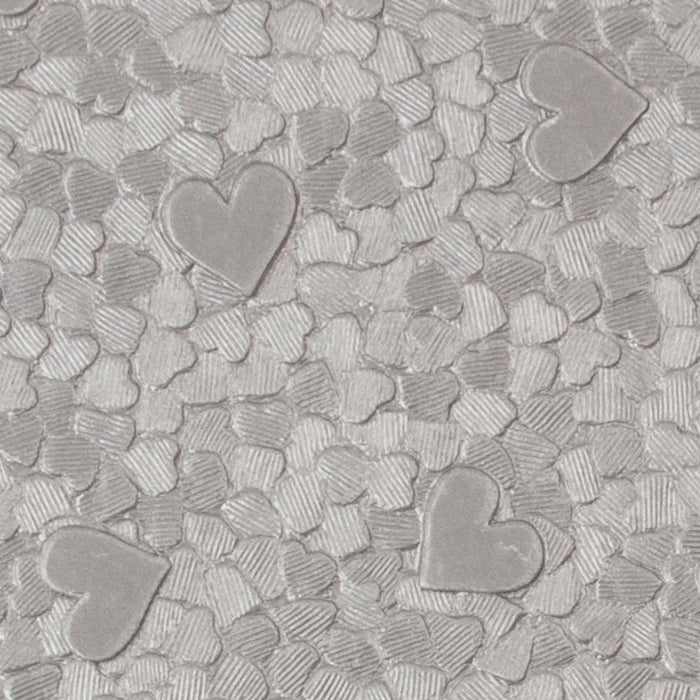 Craft Perfect - Hand Crafted Cotton Paper - Cascading Hearts - A4(5/PK) - tonicstudios