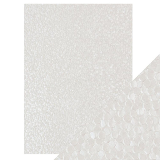 Craft Perfect - Hand Crafted Cotton Paper - Freshwater Pearls - A4(5/PK) - 9809e - tonicstudios