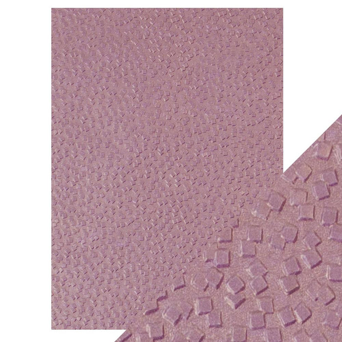 Craft Perfect Falling Glitter Hand Crafted Embossed Cotton Paper