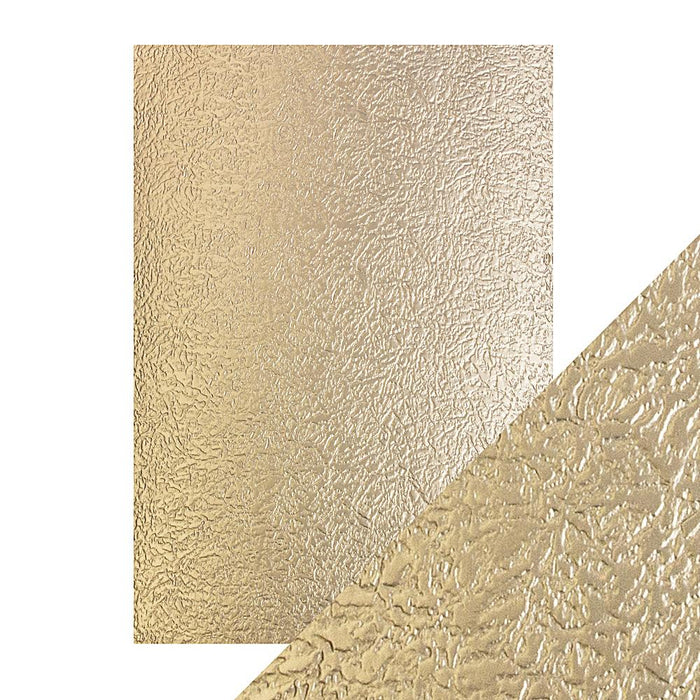 Craft Perfect - Luxury Embossed Card - Golden Glacier - A4 (5/PK) - tonicstudios