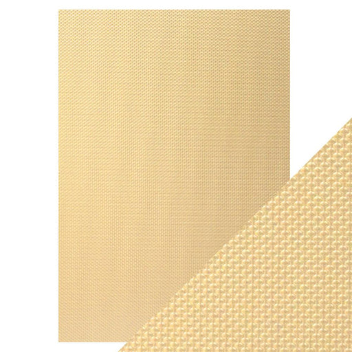 Craft Perfect - Luxury Embossed Card - Golden Mosaic - A4 (5/PK) - 9826e - tonicstudios