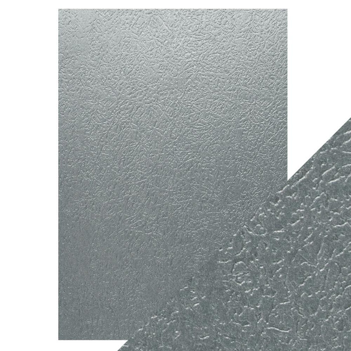 Craft Perfect - Luxury Embossed Card - Ice Grey Glacier - A4 (5/PK) - tonicstudios