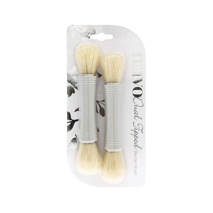 Nuvo - Dual Ended Blender Brush - 2 Pack - 984n - tonicstudios