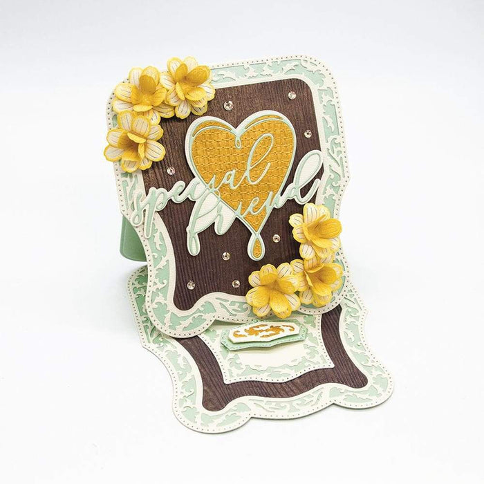 Craft Perfect - Speciality Paper - Yellow Bamboo - A4 - 9882E - tonicstudios
